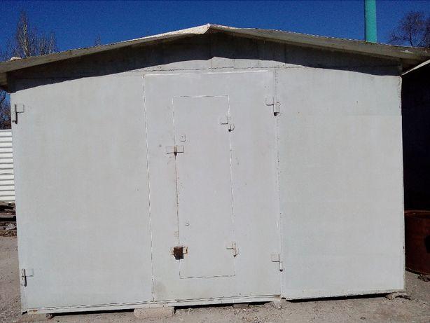 Склад, цельносварной гараж