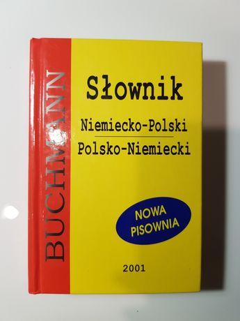 Słownik Niemiecko-Polski Polsko-Niemiecki 412str. jak NOWY Buchmann