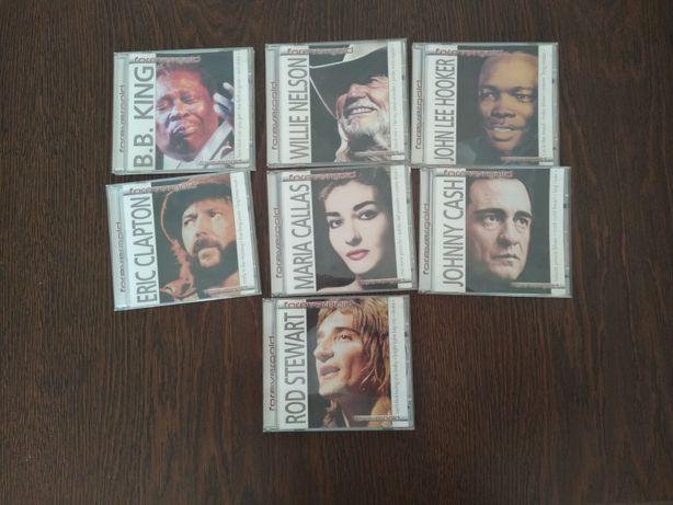 Rod Stewart, B.B. King, Eric Clapton,Wille Nelson, Maria Callas i inni