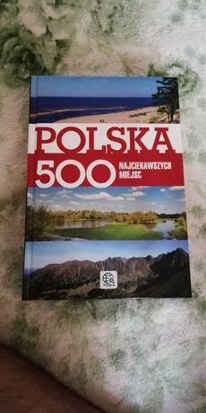 Книга Польща 500 найцікавіших місць польська мова