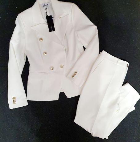 Garnitur EDAN Marynarka Żakiet spodnie