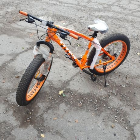 Велосипед фэтбайк FatBike внедорожник Crossover алюминиевая рама Shima