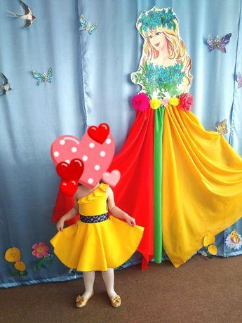 Платье на празник. На день рождение