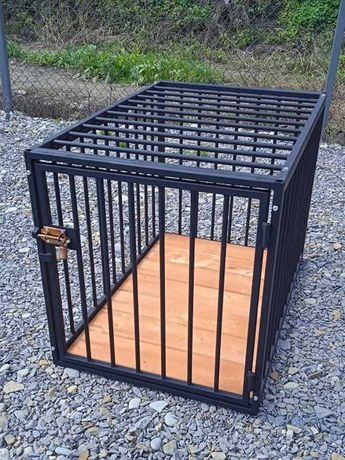 Klatka kennelowa, klatka dla psa, box 100x70x80