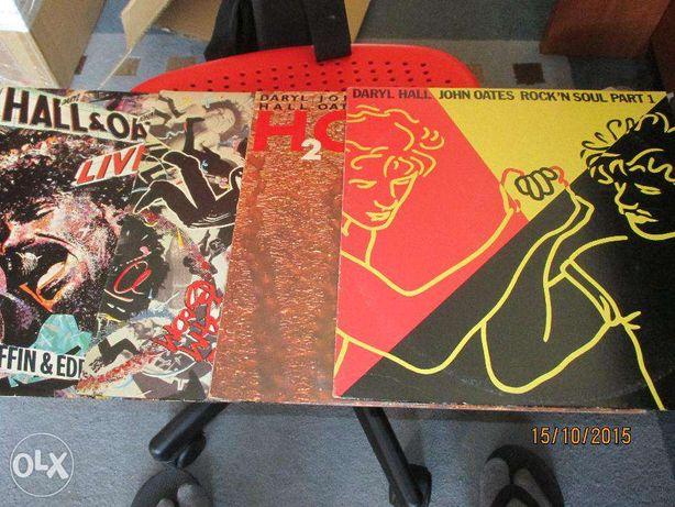 4 discos de vinil de Daryl Hall & John Oates