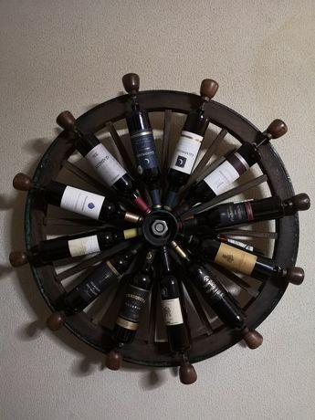 Garrafeira rotativa 24 garrafas