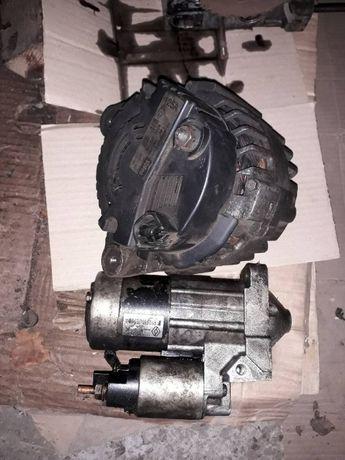 Renault Kangoo 1, 5 DCI (2003) навесное двигателя и тд.