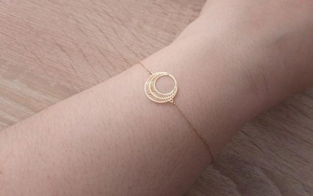 Złota bransoletka PR 375