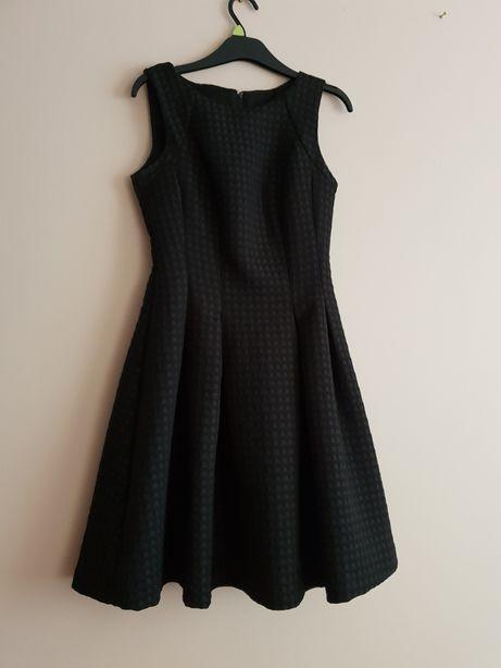 Sukienka czarna Orsay S M balowa elegancka