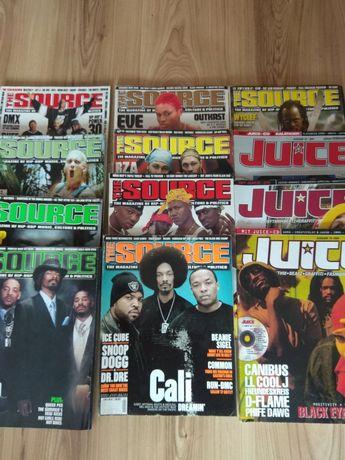 The source, Juice, czasopisma hip hop, rap.