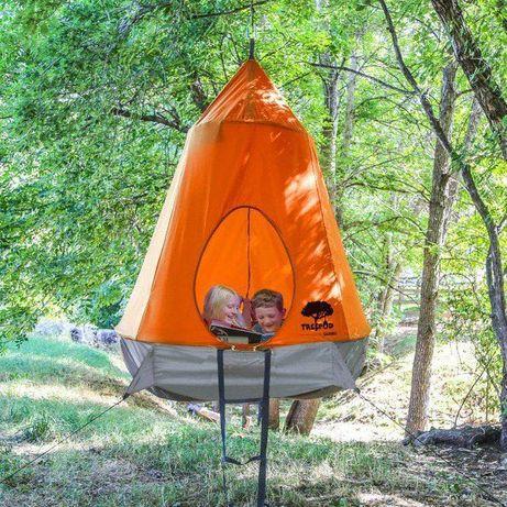 Treepod treehouse. Домик на дереве. Палатка Детская.