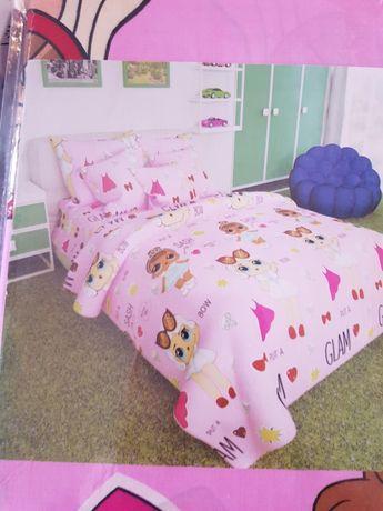 Детский комплект постельного белья Размер полуторный