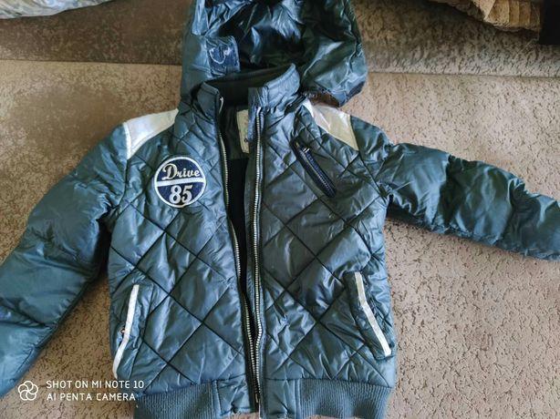 Куртка на мальчика евро зима