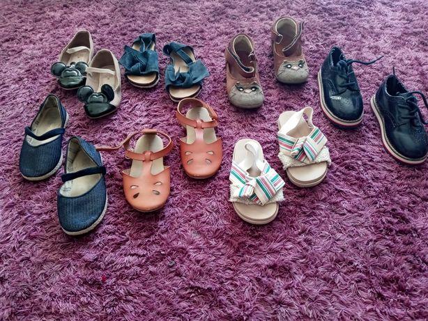 Buty buciki Zara, Mrugała, zestaw.Rozm 24.Stan db plussss.