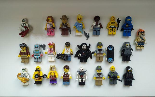 LEGO figurki ludziki minifigures series