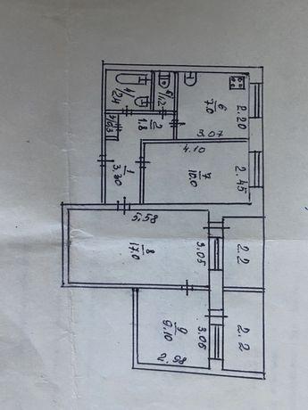 3 х комнатная квартира заречный