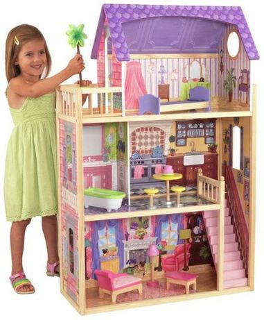 Casa de bonecas Madeira Kidkraft Kayla - NOVA EM CAIXA