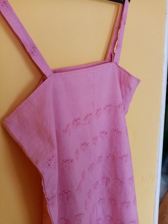 Letnia haftowana sukienka roz L