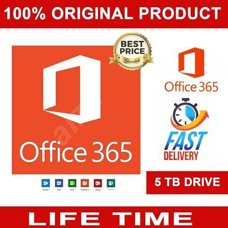 Konto do Microsoft Office Pro Plus 365 Pc-Mac-Android.Dożywotni