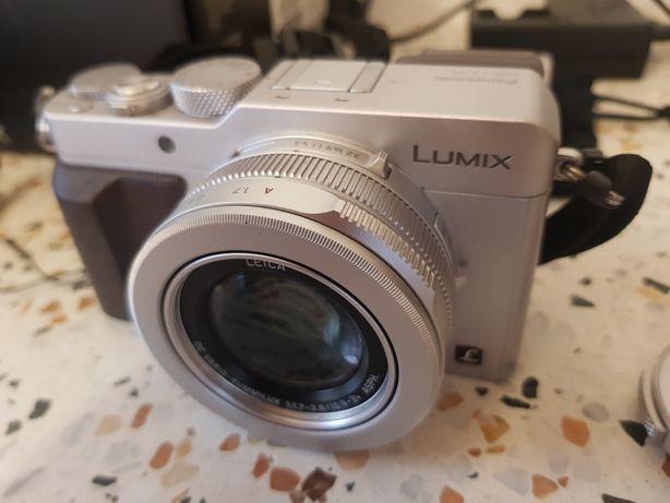Panasonic Lumix LX-100 Srebrny - jak nowy!