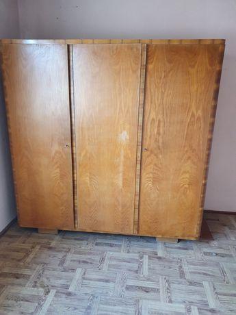 Duża szafa drewniana Prl