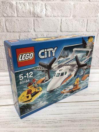 Конструктор LEGO City Спасательный самолет береговой охраны (60164)