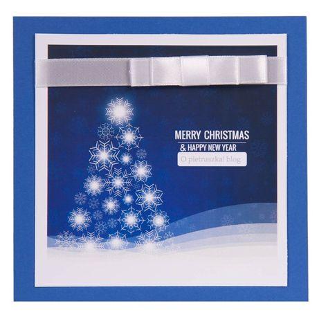 nowoczesne kartki bożonarodzeniowa dla firm z logo