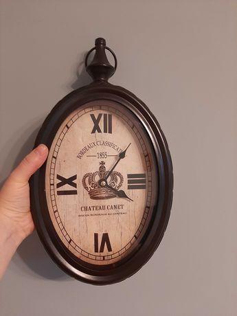 Zegar ścienny, metalowy, retro , vitage
