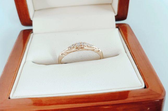 Złoty pierścionek 585 1,21 gram
