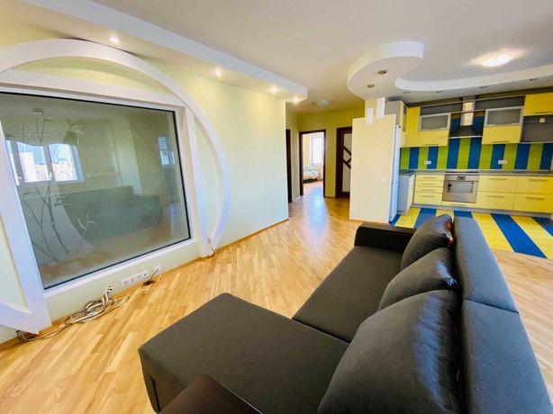 3-комнатная квартира на Драгоманова 31б, метро Позняки 5 минут пешком