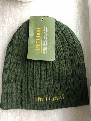 Теплая трикотажная шапка JahtiJakt для охоты и рыбалки