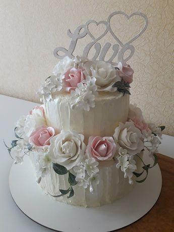 Торт свадебный, торты на заказ. Кенди бар.