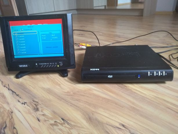 Telewizor LCD 7 cali i DVD Korr
