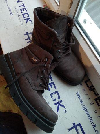 Ботинки тёплые коричневый