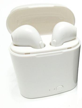 Беспроводные блютуз наушники I7S TWS аналог Apple AirPods аирподс