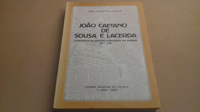 João Caetano de Sousa Lacerda-colectânea de artigs
