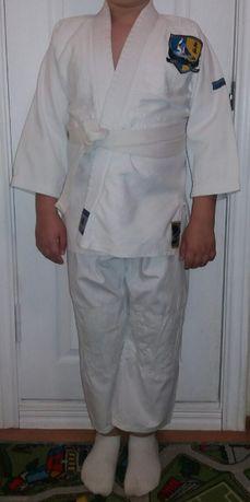 Детское кимоно для занятий Дзюдо. Размер 140.