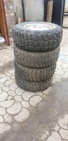 Продам колёса 245/75 r16. Розболтовка 5-120