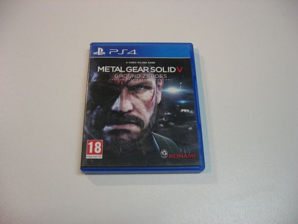 Metal Gear Solid V Ground Zeroes - GRA Ps4 - Opole 0864