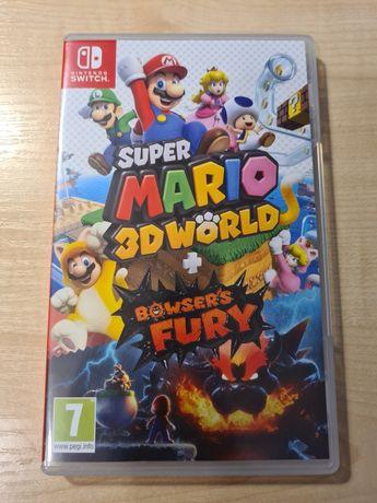 Gra Super Mario 3D World + Browser's Fury