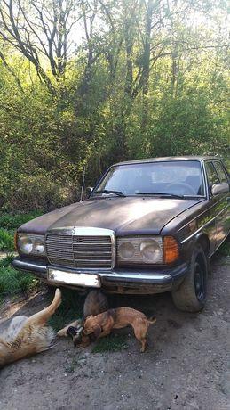 Продам Mercedes W123 3.0 на ходу, обмен на какое то авто. Предлагайте.