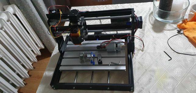 Maszyna CNC oraz grawer laserowy 15w