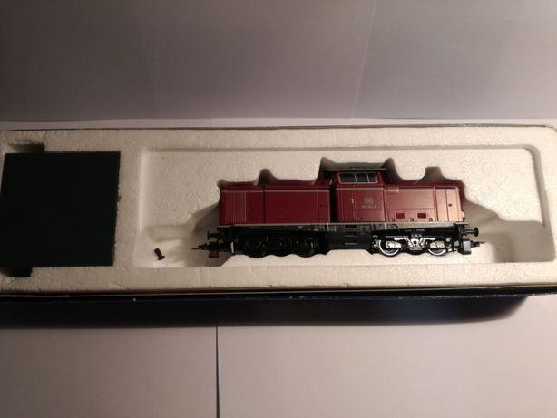 Kolejka model spalinowozu Br 212 Roco skala H0