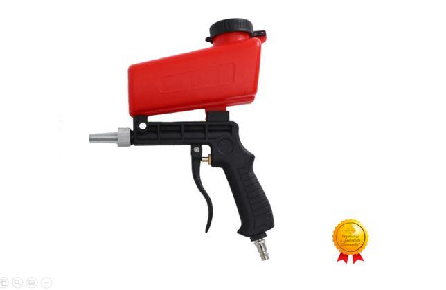 Pistola de Decapagem/ jato de areia