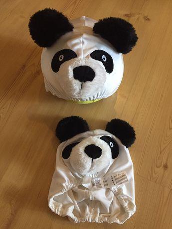 Детская шапка для утреника панда