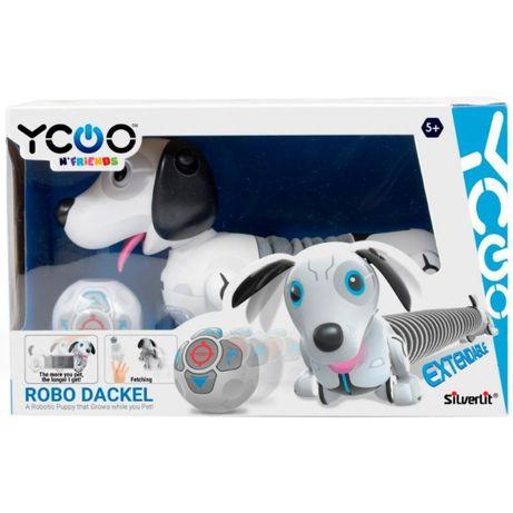 Интерактивная игрушка Silverlit робот-собака Dackel