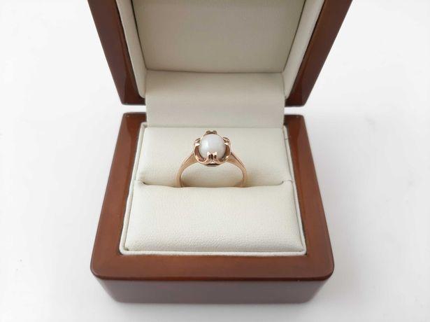 Złoty pierścionek z Kamieniem - PR.585/14K - 3,4g