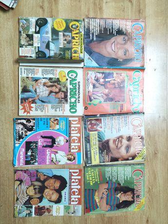 Vendo revistas anos 70/80, Capricho, Plateia, Carlos Santander, etc
