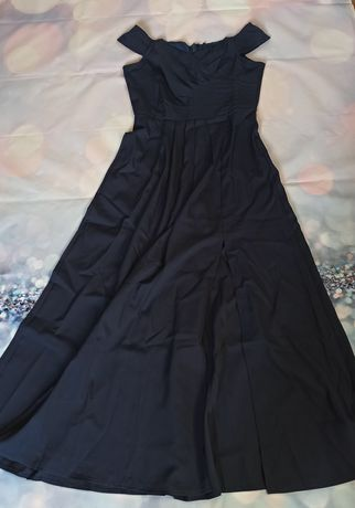 Długa elegancka sukienka