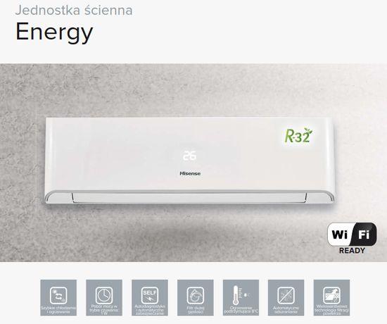 Klimatyzacja Hisense Energy AST12 3.5kW OD RĘKI!